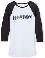 Boston Local Pride by Todd Snyder Men's Raglan - White
