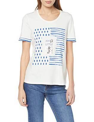 Gerry Weber Women's 170304-35114 T-Shirt, (White 99700), 6 (Size: )