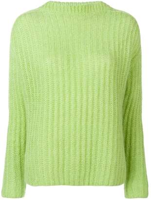 Marni ribbed knit sweater