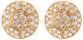 Susan Caplan Vintage 22ct Gold Plated Deco Style Swarovski Crystal Stud Earrings, Gold