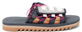 Suicoke Dao-2 Toggle-laced Canvas Slides - Navy Multi