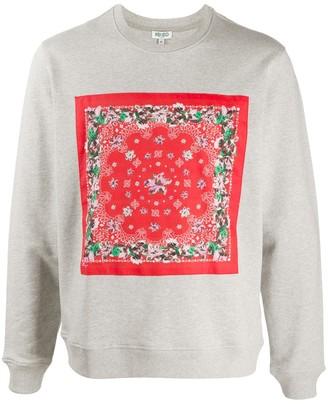Kenzo Bandana print sweatshirt