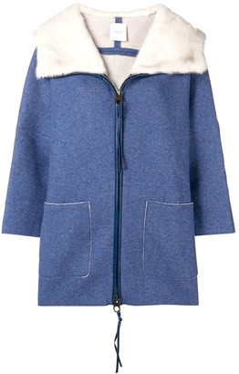 Agnona Loose Fitted Coat