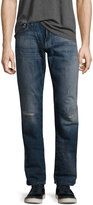 Mavi Jeans Zach Ripped White-Edge Jeans, Blue