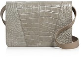 Vince Medium Croc-Embossed Shoulder Bag - 100% Bloomingdale's Exclusive