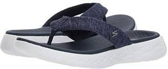 Skechers Performance On-The-Go 600 - Preferred (Navy/White) Women's Sandals