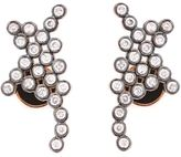 Yannis Sergakis 18k Gold and Diamond Stud Earrings
