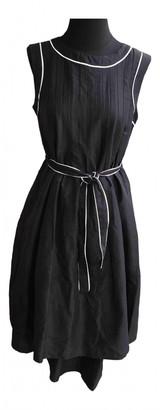 Max Mara 's Black Linen Dresses
