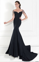 Tarik Ediz Sweetheart Neckline Evening Gown 92593