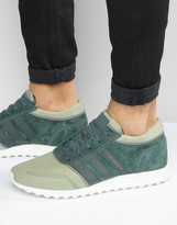 Adidas Originals Los Angeles In Green S31528