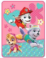 Nickelodeon Nick Jr Paw Patrol Girls Pup Heroes Throw