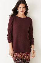 J. Jill Side-Zip Sweater