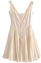 Goodnight Macaroon 'Swing' Cotton Button Down Dress (2 Colors)