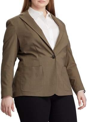 Chaps Plus Slim-Fit Stretch Suit Jacket