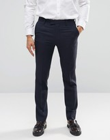 Farah Skinny Flannel Suit Trousers