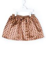 Au Jour Le Jour Kids monkey print skirt