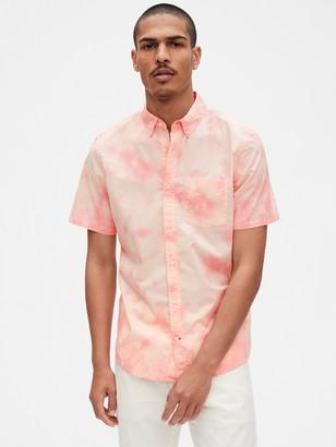 Gap Lived-In Poplin Shirt