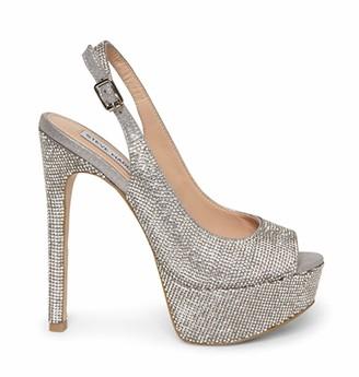 Steve Madden Women's Totally-R Rhinestone Heeled Sandal