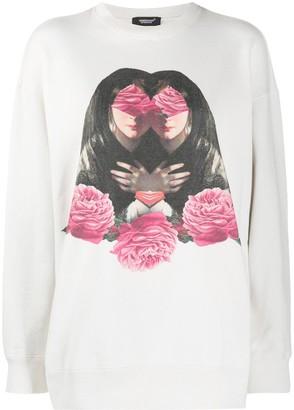 Undercover Floral Print Sweatshirt