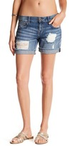 William Rast Distressed Denim Short