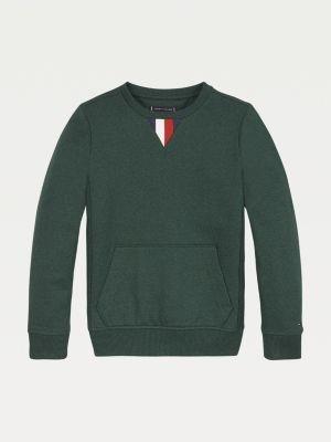 Tommy Hilfiger Signature Tape Kangaroo Pocket Sweatshirt
