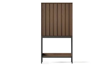 BDI Cosmo Bar Cabinet Color: Toasted Walnut