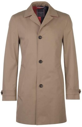 Tommy Hilfiger Tommy Pure Cotton Point Collar Trench Coat