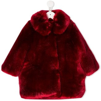Hucklebones London Faux Fur coat