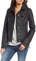 Levi's Women's Faux Leather Trucker Jacket