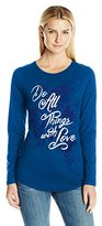 Hanes Women's Long Sleeve Graphic Tee