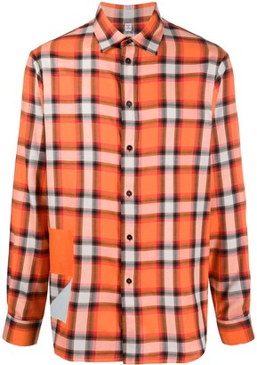 McQ Plaid Check Print Shirt