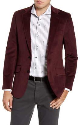 Robert Graham Wilkes Regular Fit Velvet Sport Coat