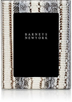 "Barneys New York Studio Snakeskin 5"" x 7"" Picture Frame"
