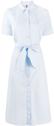 Tommy Hilfiger Short-Sleeve Cotton Shirt Dress