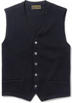 Cordings - Virgin Wool Vest - Blue