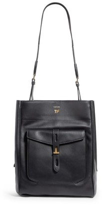 Tom Ford Large Leather Shoulder Bag