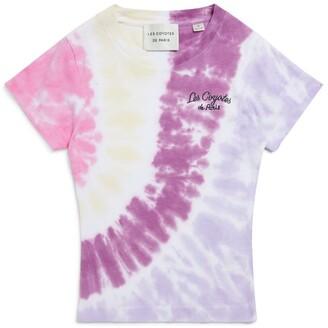 LES COYOTES DE PARIS Tie-Dye Lien T-Shirt (8-16 Years)