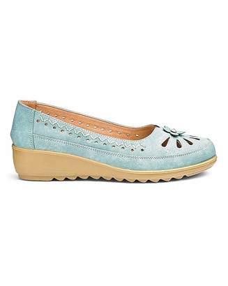 Cushion Walk Slip On Shoes E Fit