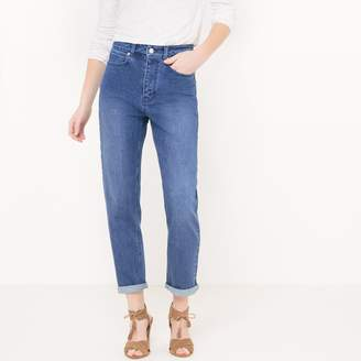 La Redoute Collections Cropped High Waist Jeans