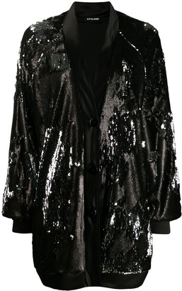 Styland Sequin Coat
