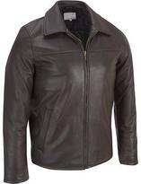 Wilsons Leather Mens Classic Lamb Open Bottom Jacket