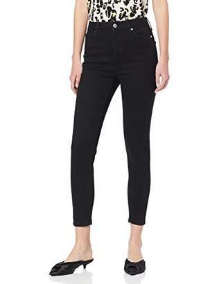 Miss Selfridge Women's Lizzie Black Short Skinny Jeans EU 40, UKManufacture Size:W30/L30