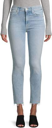 Mother Mr Dazzler Ankle Fray Jeans