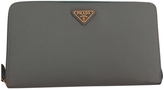 Prada Turquoise Leather Wallet