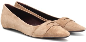 Bougeotte Exclusive to Mytheresa Suede ballet flats