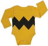 FTXJ Baby Jumpsuits Kids Cool Wave Printed Long Sleeve Romper Bodysuit Outfits