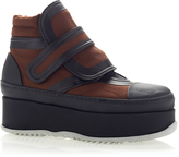 Marni Canvas Multi Ankle Boot