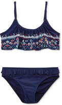 Roxy 2-Pc. Pretty Little Flutter Bikini Swimsuit, Big Girls (7-16)