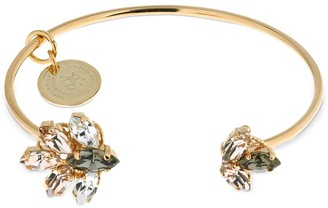 Anton Heunis Small Crystal Cuff Bracelet
