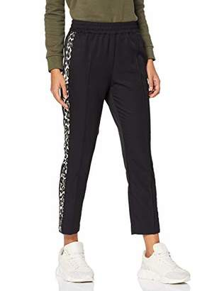 Scotch & Soda Maison Women's Tapered Leg Pants with Contrast Side Panels Trouser,(Size: X-)
